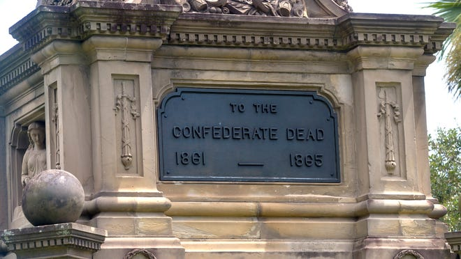 A letter writer challenges the notion that Savannah should not remove monuments to the Confederacy.