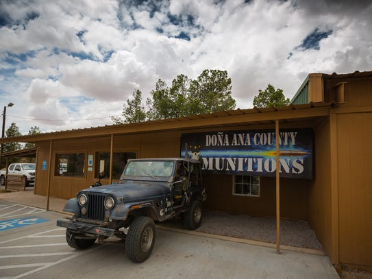 The D.A.M. Ammo Company in its new location on W Picacho