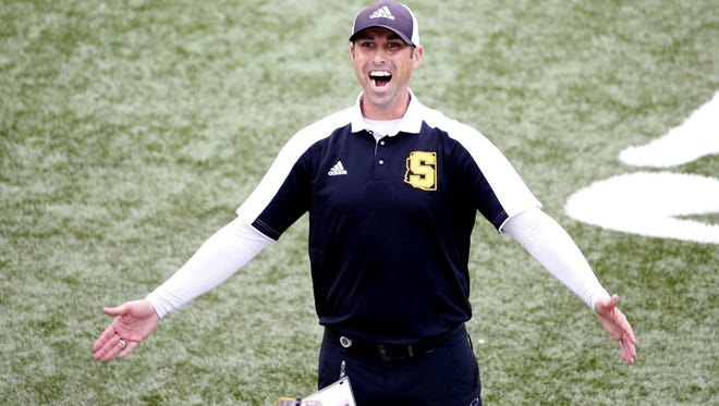 Saguaro coach Jason Mohns just led the Sabercats to a state-record fifth 4A consecutive state championship.