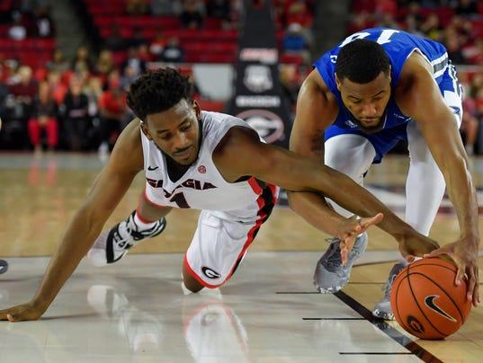NCAA Basketball: NC-Asheville at Georgia