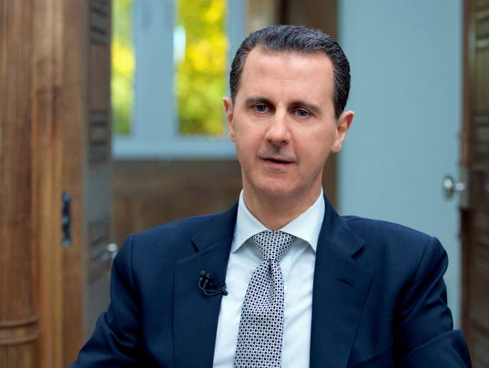 Assad calls chemical attack a fabrication
