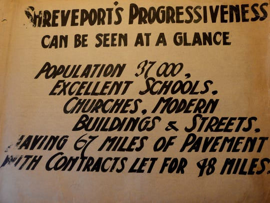 """A page inside the """"A Glimpse of Shreveport"""" photo book."""