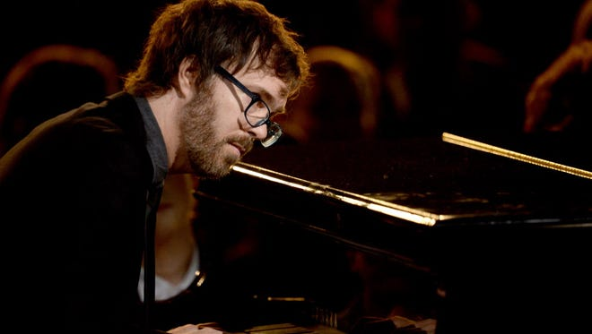 Ben Folds performs a solo show Thursday at the Riverside Theater.