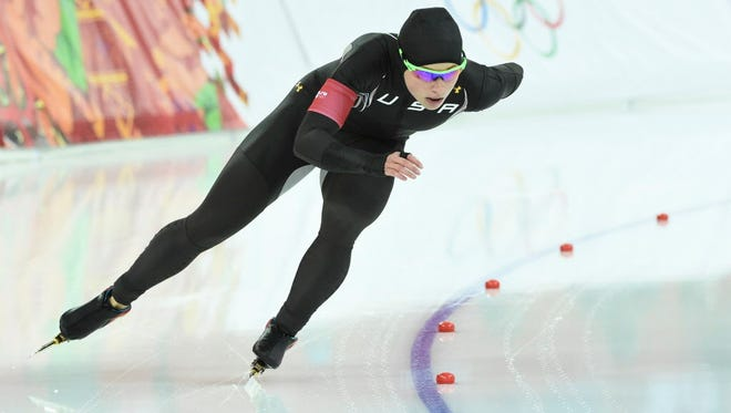 Sugar Todd placed 32nd in the 1,000-meter speed skating event at the 2014 Olympic Winter Games in Sochi.