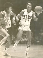 Eugene Parker remains among Purdue's career scoring leaders 40 years after his final game.