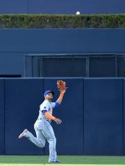 Apr 28, 2018; San Diego, CA, USA; New York Mets center