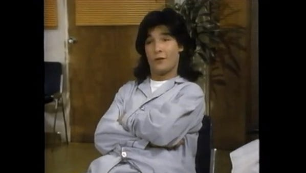 Corey Feldman stars in the CBS after-school special '15 and Getting Straight.'