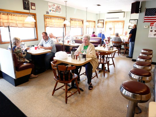 Sparky's Diner in Garnerville on  Thursday, July 13,