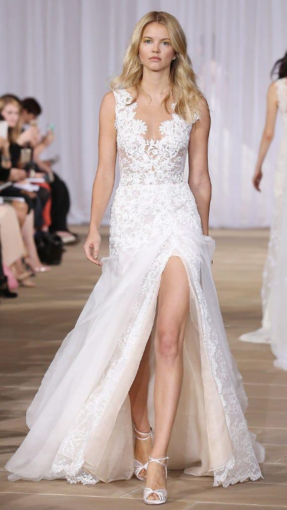 Wedding Dress High Slit