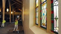 Interior renovations begin at St. Mary's Church