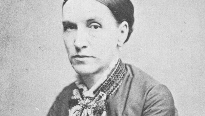 Henrietta, the daughter of Rev. Hiram Chamberlain, married Richard King in 1854. She is shown in 1871 when she was the mother of five children.