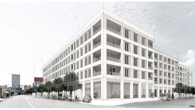 Development Services Group announced plans Tuesday for a more than $70 million redevelopment of buildings including the former Wonder Bread bakery near Downtown Memphis.
