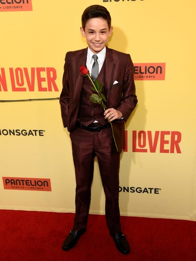 Stars light up at how to be a latin lover premiere ccuart Choice Image