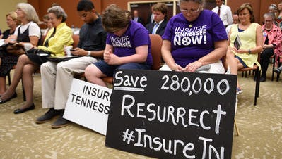 A new poll from Vanderbilt University found 64 percent of respondents support Insure Tennessee, prompting new calls to pass Gov. Bill Haslam's controversial health care proposal.