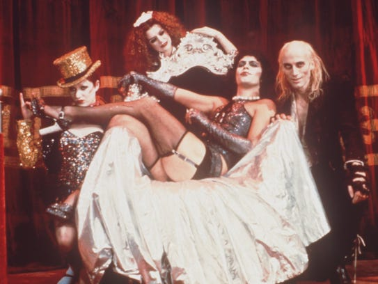 Rocky Horror Picture Show. l to right: l to r: Nell
