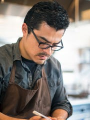 Chef Carlos Salgado at Taco Maria.