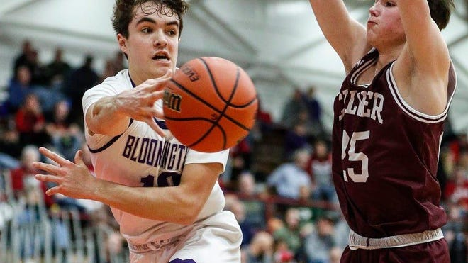 Bloomington South guard Connor Hickman signed Wednesday with the Bradley men's basketball team.