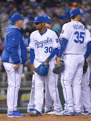 Royals starting pitchers rank 12th in the American League with a 4.91 ERA through Thursday.