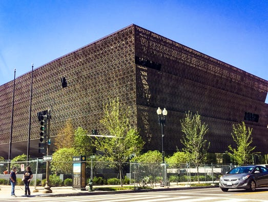 The new Smithsonian National Museum of African American