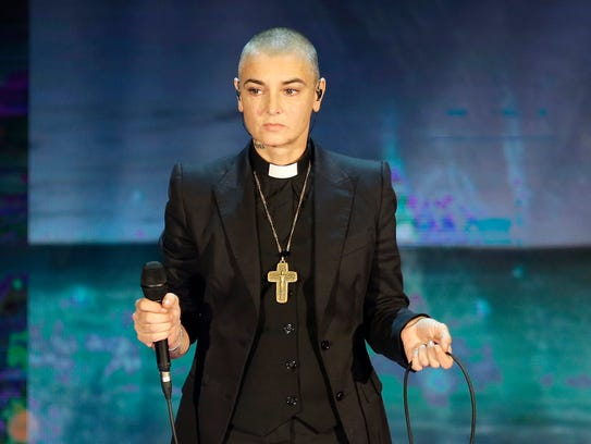Sinead O'Connor performs in Milan.