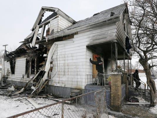 Fatal Detroit house fire