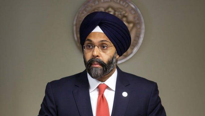Bergen County Prosecutor Gurbir S. Grewal in Trenton in December.