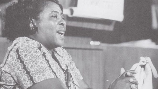 Being a sharecropper didn't stop Fannie Lou Hamer from waging a battle against segregation and discrimination.