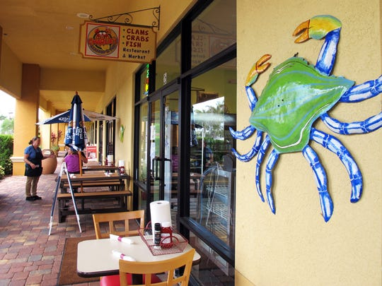Charlie's Seafood & Pub is off Immokalee Road in North Naples.