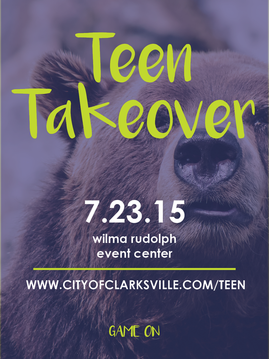 Teen Takeover 2015 - New Ad Concept