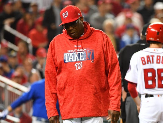 MLB: NLDS-Chicago Cubs at Washington Nationals