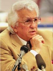 FILE--Elvis Presley's physician Dr. George Nichopoulos