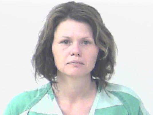 Kimberly Hall crime jail mugshot
