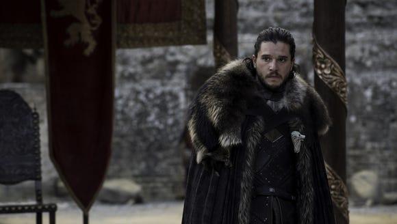 Jon Snow on 'Game of Thrones.'