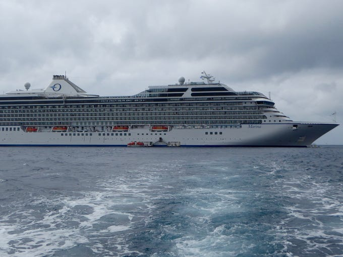 Oceania Cruises' Marina was the first in the upmarket