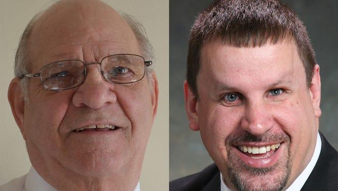 Tom Bigler and Randy Meyer are both running for mayor of Sheboygan Falls.