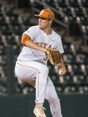 University of Texas pitcher Josh Sawyer is a former