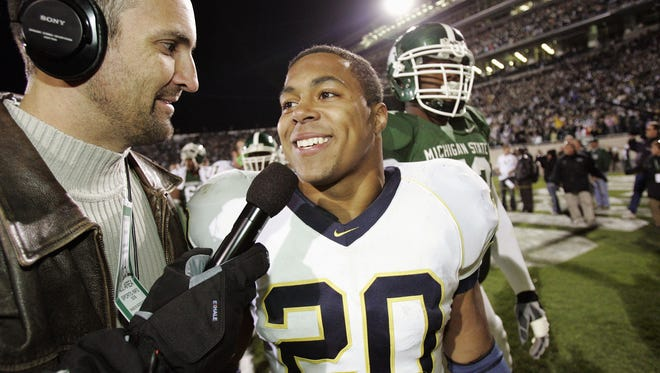 "Hart called Michigan State ""little brother"" in press interviews after the 2007 come-from-behind 28-24 win."