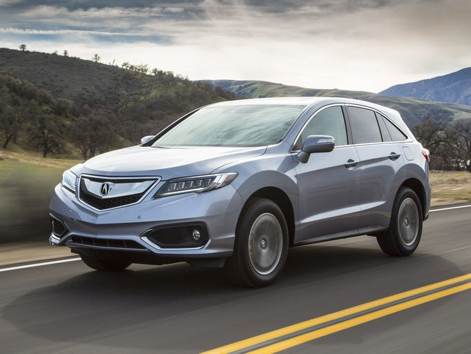 The newly refreshed 2016 Acura RDX luxury sport-utility