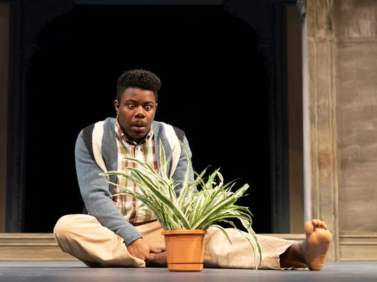 """Robert Edwards stars as Bennie in the Binghamton University production of """"Castle on the Hill."""""""