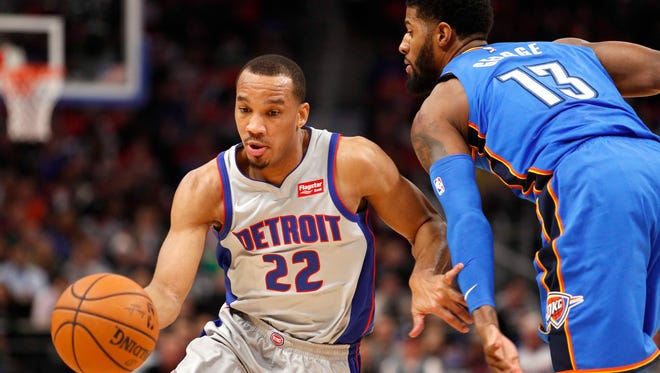 Since Dec. 1, the Pistons are 3-17 when Avery Bradley, left, plays and 5-3 when he sits out.