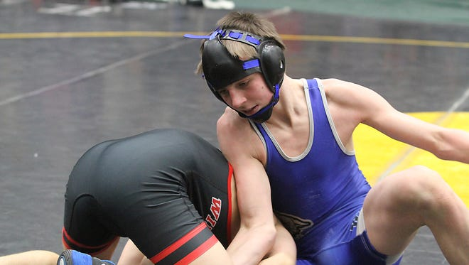 Oshkosh West's Reese Thompson was a sectional qualifier for the Wildcats last season and one of host of wrestlers returning this year for the Wildcats.