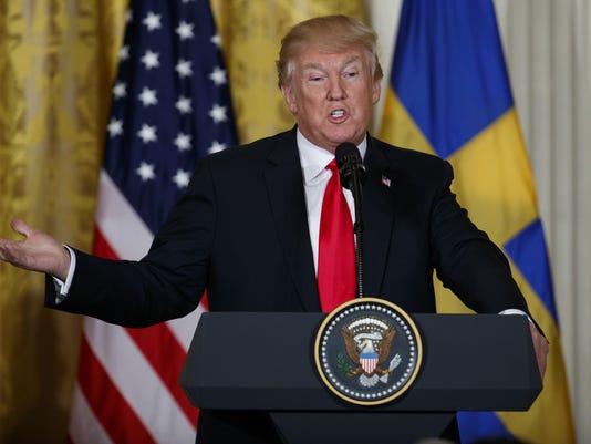 Donald Trump,Stefan Lofven