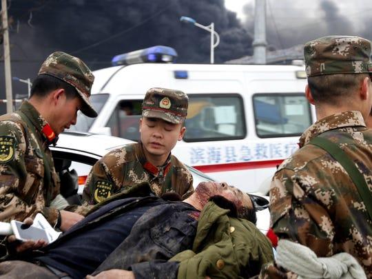China Chemical Plant Blast (2)