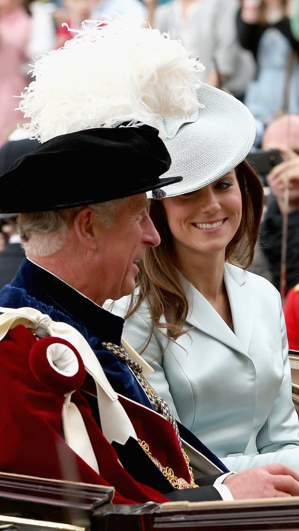 Prince Charles and Duchess Kate
