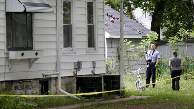 Appleton police Friday investigate the homicide of a 35-year-old man at a home in the 900 block of North Durkee Street in Appleton.