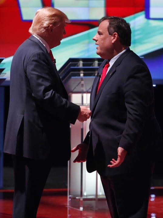 Donald Trump, Chris Christie