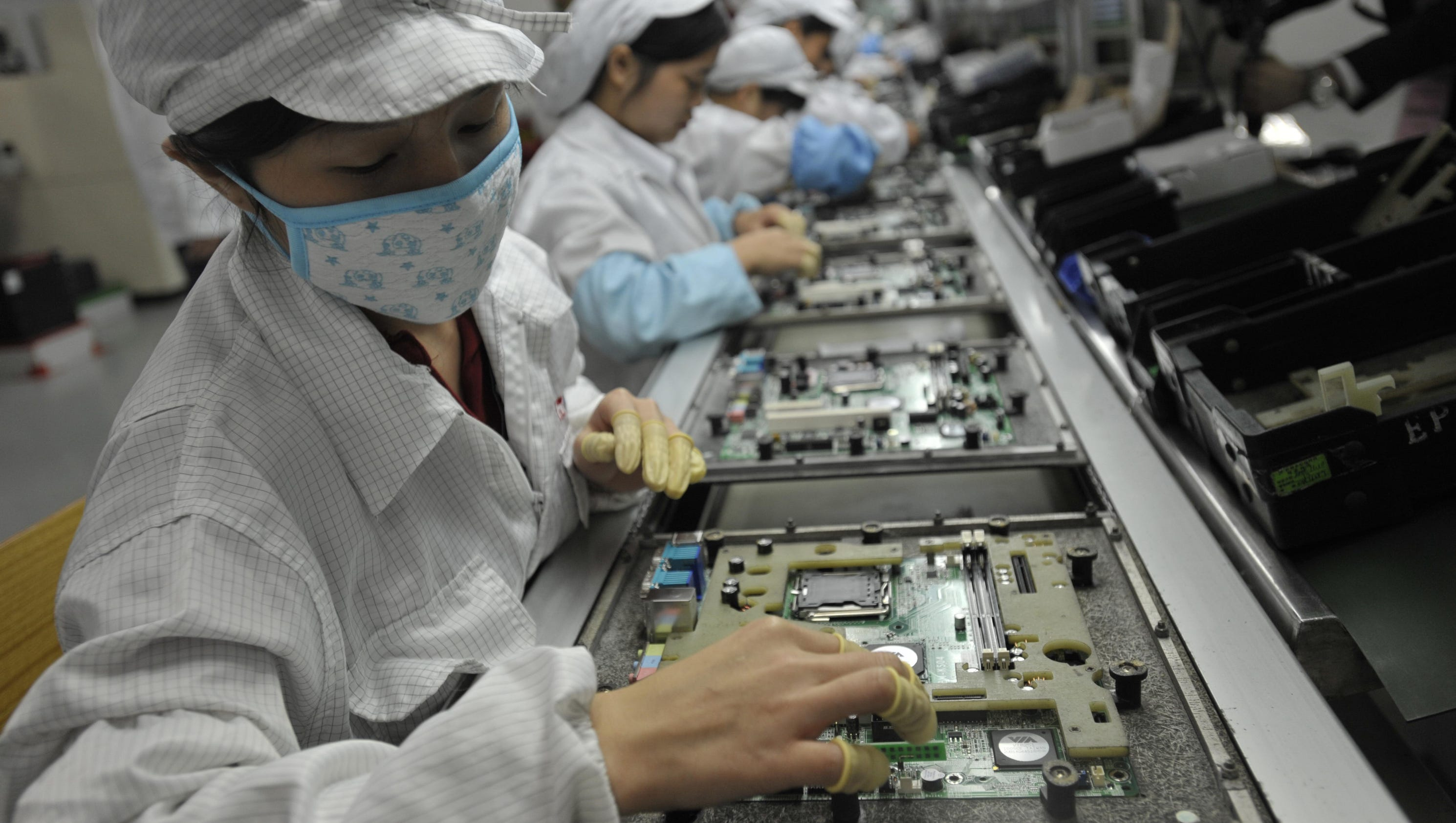 Why not build an iPhone in the USA?