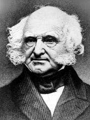 Martin Van Buren, the eighth president of the United