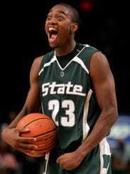 Maurice Joseph, shown here at Michigan State, was an