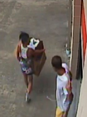 Hattiesburg police are looking for two suspects they believe responsible for burglaries at Outback Storage.